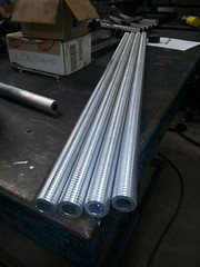 Threaded Tubing for Leg Actuators