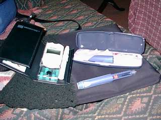 1999-era diabetes kit