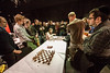 Last chess match at Harpa