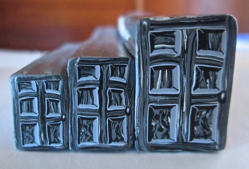 Rustic Black Door Cane