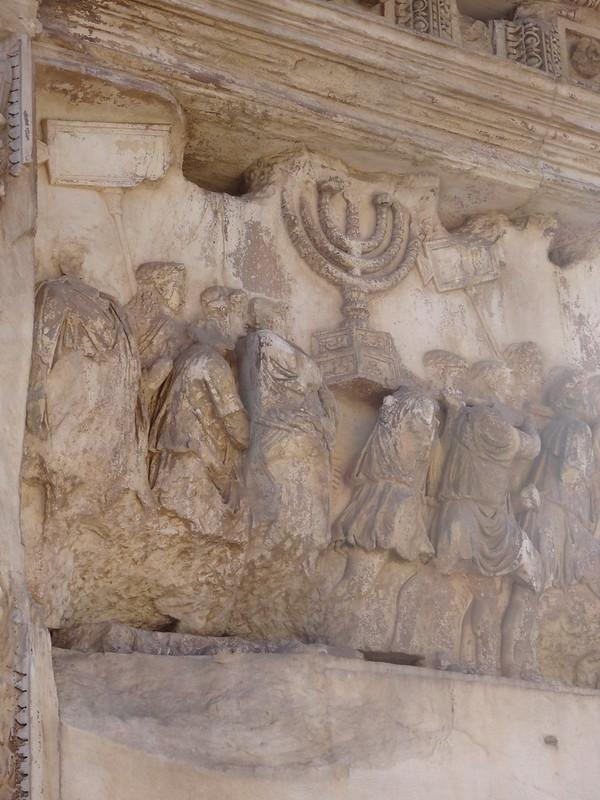Triumph of Vaspatian, Arch of Titus