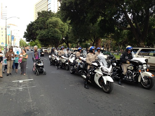 KXL protest, San Jose IMG_2522 Motorcycle cops