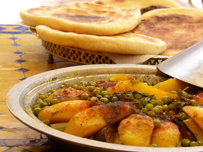 Yet another vegetable tajine in Marrakesh