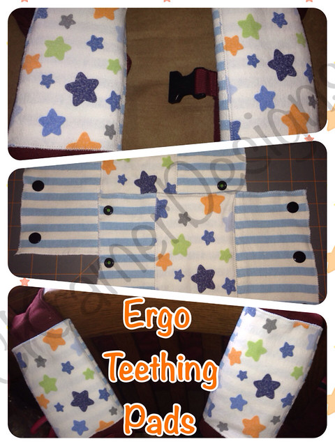 Ergo Teething Pads