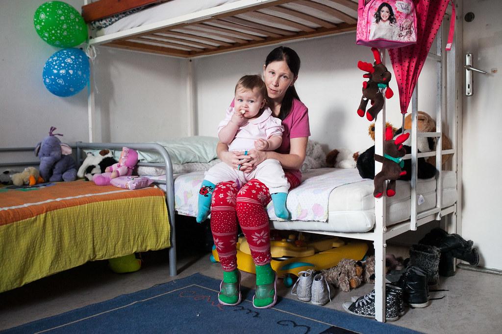 Ildikó és legkisebb lánya, Tiffany | Fotó: Magócsi Márton