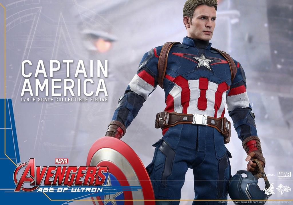 Hot Toys – MMS281 – 復仇者聯盟2:奧創紀元【美國隊長】1/6 比例 Captain America