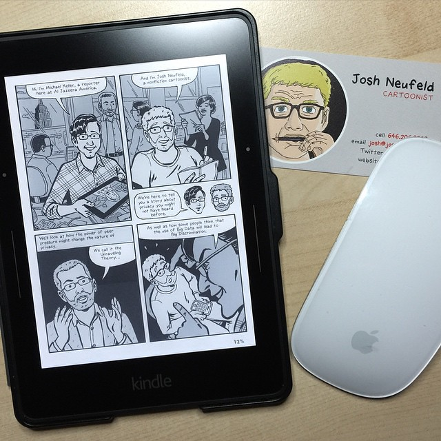 Rereading Al Jazeera America's excellent free comic novell