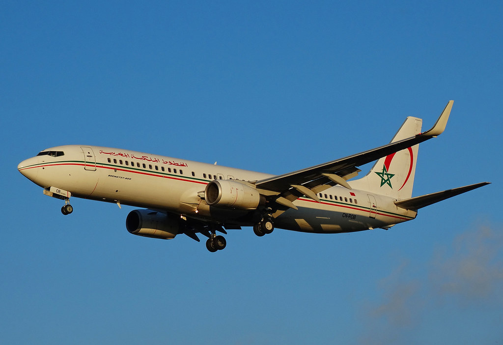 CN-ROB - B737 - Royal Air Maroc