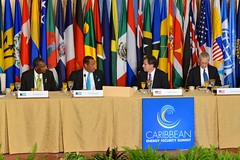 Deputy Secretary of State Antony Blinken hosts a Climate Change working breakfast during the Caribbean Energy Summit at the U.S. Department of State in Washington, D.C., on January 26, 2015. [State Department photo/ Public Domain]