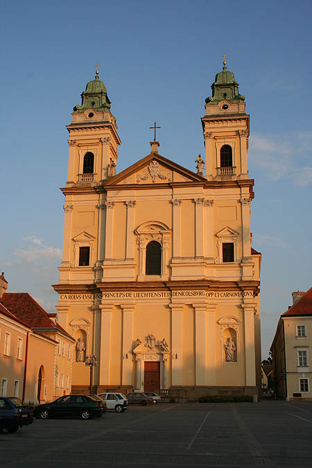 Iglesia en Valtice. © Paco Bellido, 2006