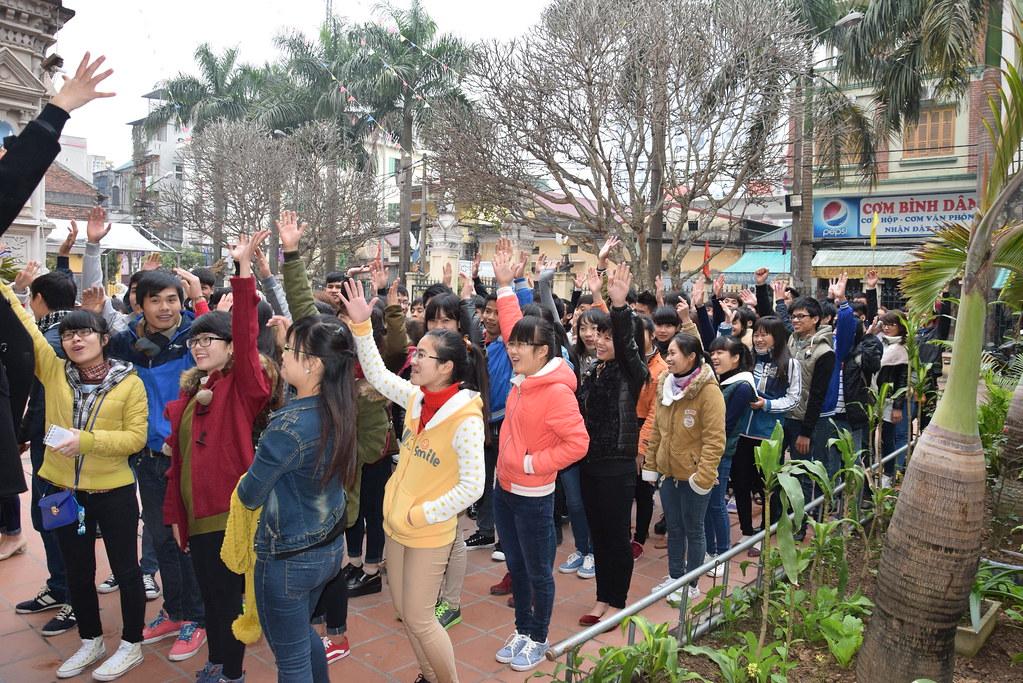 Chương trình tất niên 2014 nhóm SVCG Phát Diệm tại Hà Nội
