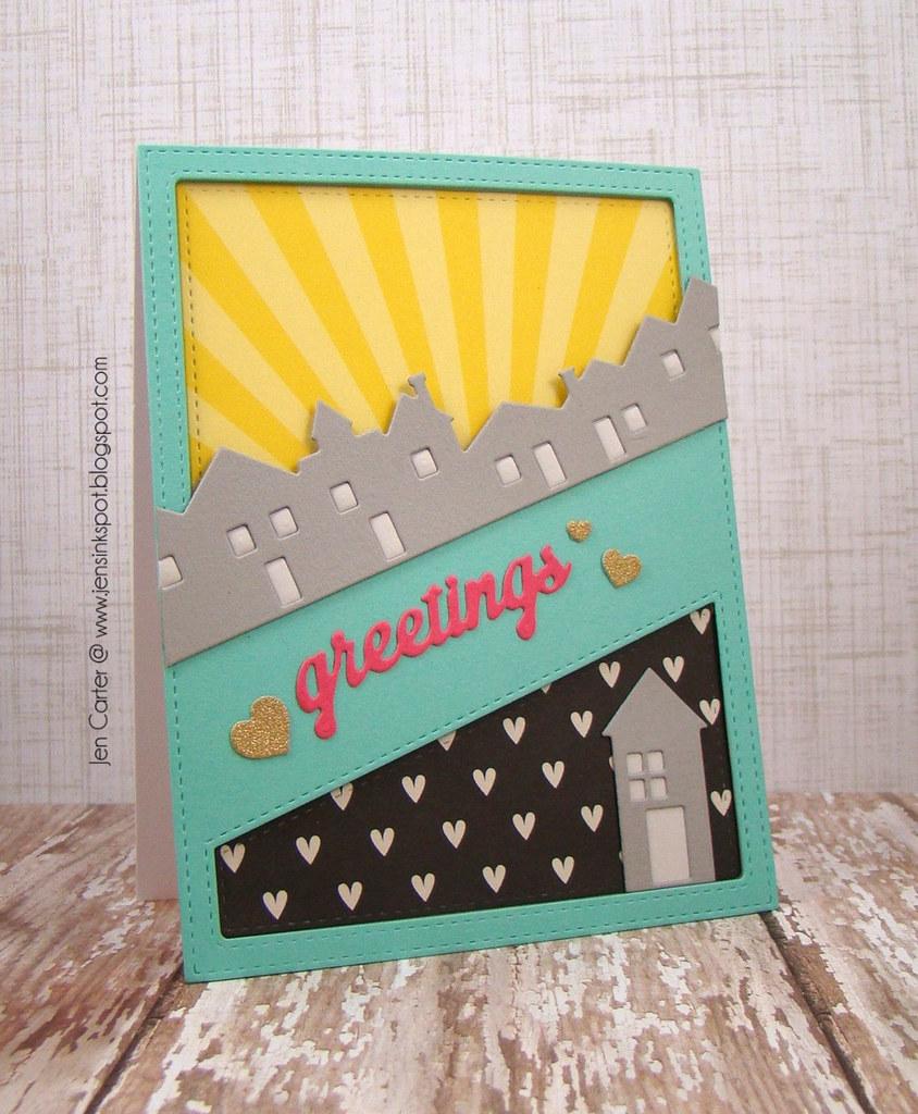 Jen Carter Skyline Home Greetings Frantic Stamper 1.1