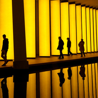 Paris, fondation Louis Vuitton, Inside the horizon de Olafur Eliasson 1