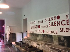 Silence at pre st didier
