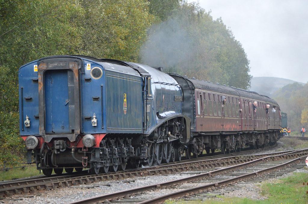 60007 'Sir Nigel Gresley', Ramsbottom