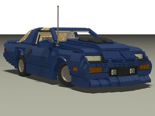 1987 Camaro IROC-Z front right