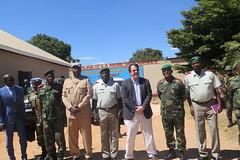 Lubumbashi, Province du Haut-Katanga, RD Congo : Le Représentant spécial adjoint du Secrétaire général de l'ONU en RDC, David Gressly a rendu visite aux autorités politico-administratives et militaires  de la province.