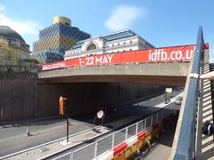 International Dance Festival 2016 Birmingham - Centenary Way footbridge
