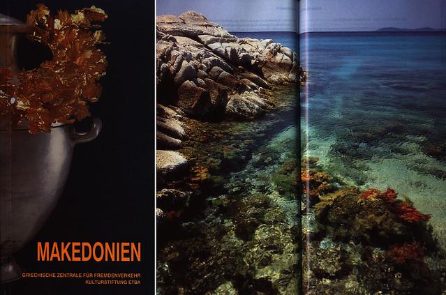 Makedonien; book, 1997, Greece