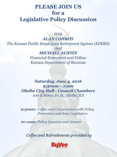 Legislative Policy Discussion