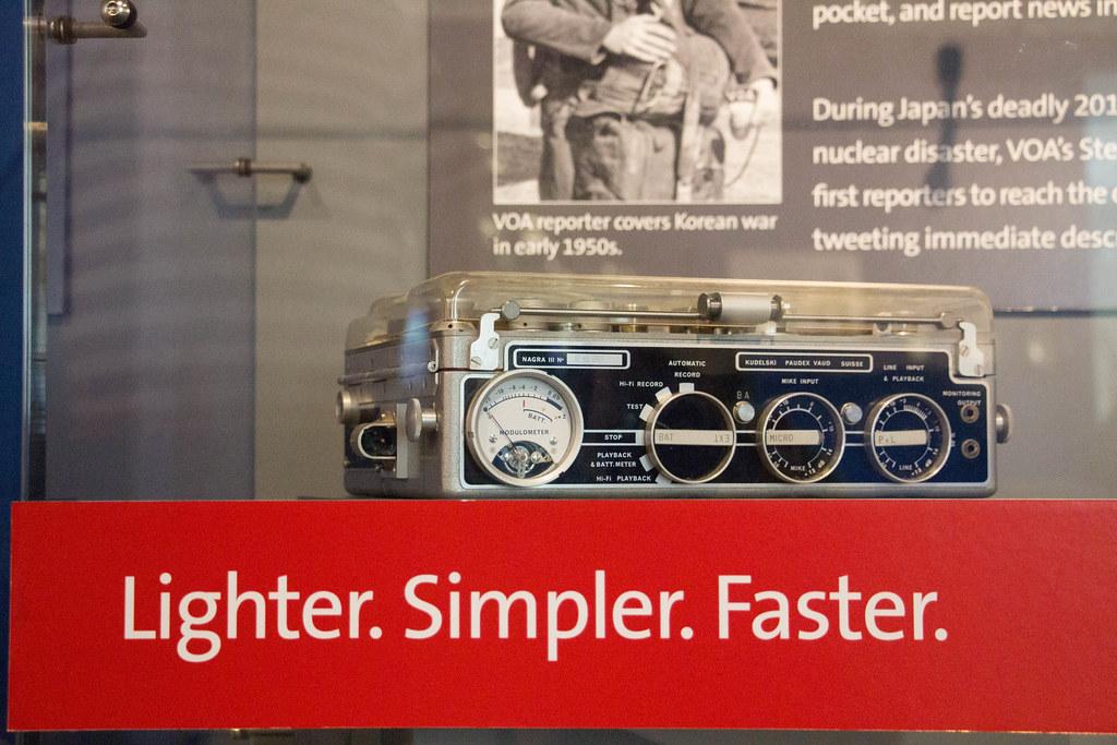 Lighter. Simpler. Faster