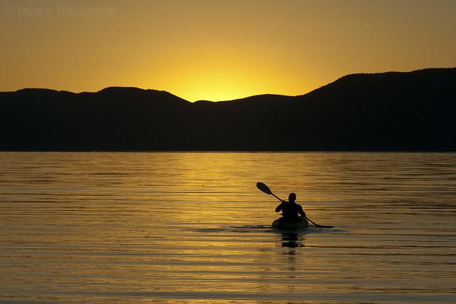 Sunrise Paddle at Bear Lake