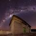 Canning Dam Control Station Milky Way by inefekt69
