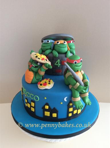 Penny Grundon's Teenage Mutant Ninja Turtles Cake