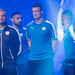 BANGKOK THAILAND-MAY18,2016: Robert Huth player of leicester city visit thailand during press release and interview at Aksra theatre of king power downtown complex rangnam,thailand