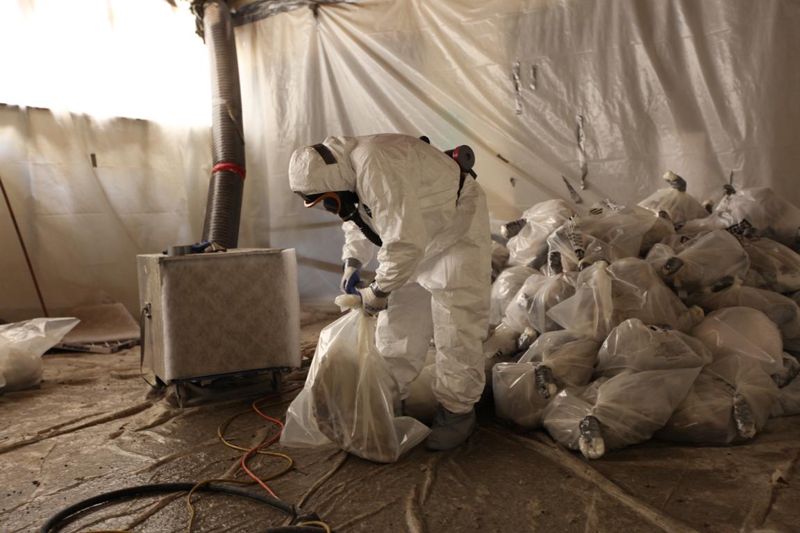 Asbestos Bagging