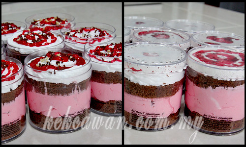 FAST SALE: ICE CREAM MINI CAKE {self pickup on 8 Mei 2013}