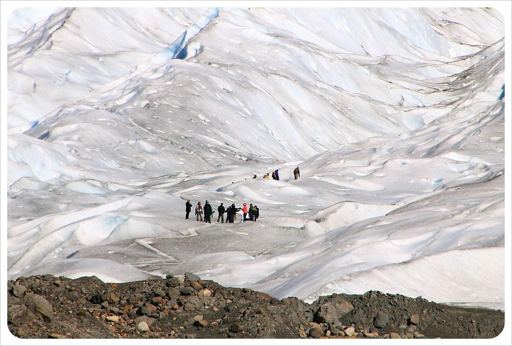 perito moreno glacier argentina ice climbers