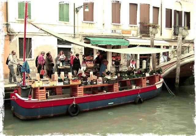 Mercadinho em Veneza