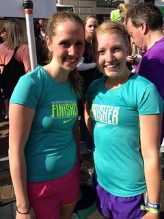 Nike women's 1/2 marathon 2013! #werundc