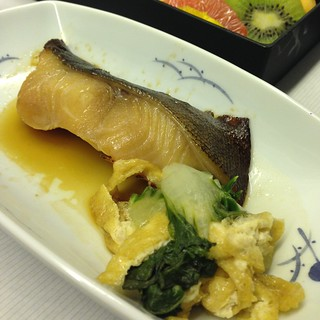 Grilled sablefish teriyaki
