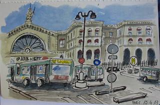 Gare de l´Est. Paris (Weekly theme USKSpain)