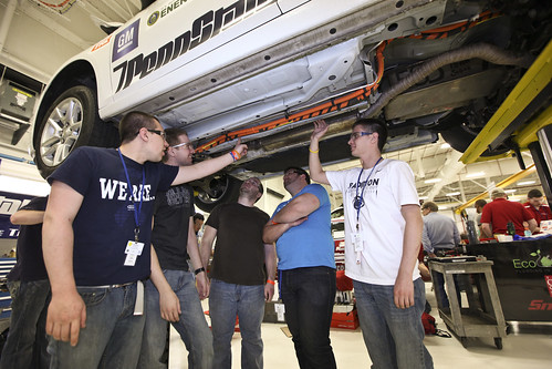 Penn State uses Siemens PLM Software in the design of their EcoCAR2 vehicle.