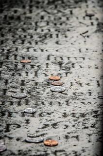 Grave Coins - St. Philip's Episcopal
