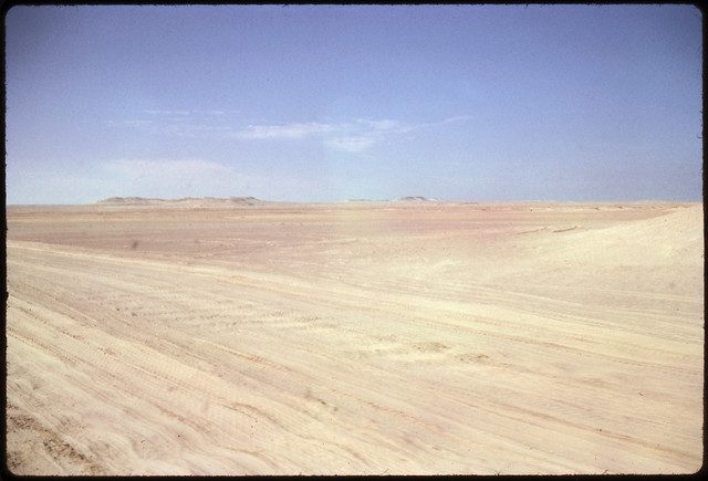 Approaching Jebel Dhana, Abu Dhabi 1963
