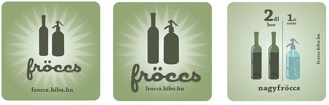 Fröccs app stickers
