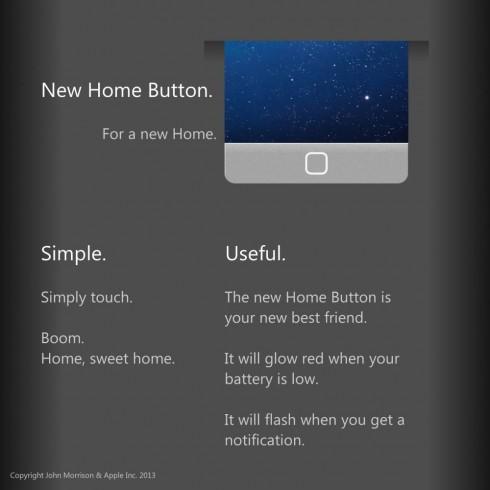 iPhone 6 получит новую кнопку Home