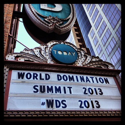 Let's get this party started! #wds2013