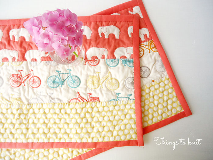Salvamanteles de Patchwork