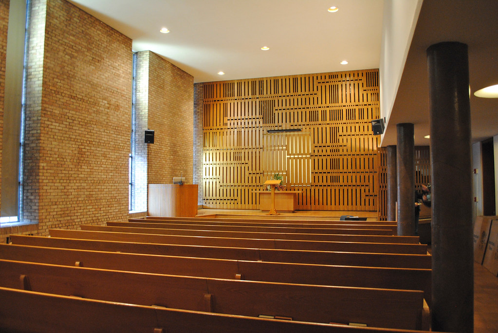 Eliel Saarinen. First Christian Church (Tabernacle Church ...