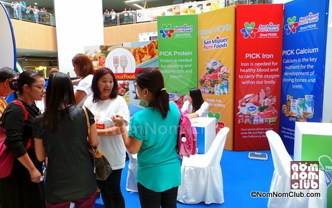 San Miguel Pure Foods Booth