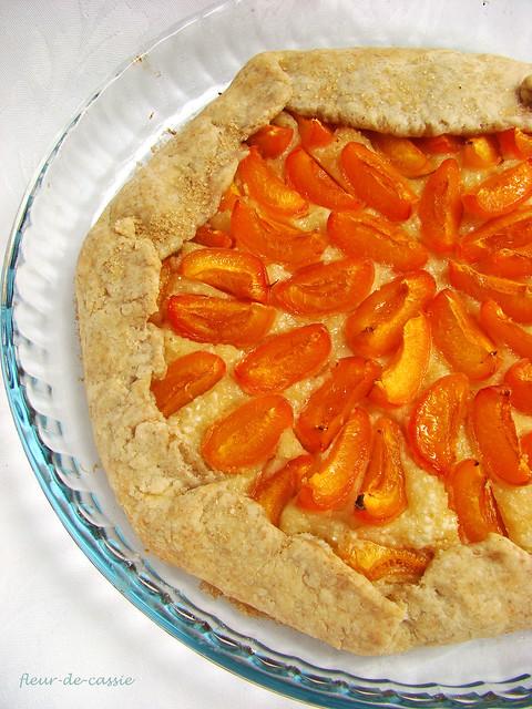 галета абрикосовая с миндальным кремом 1
