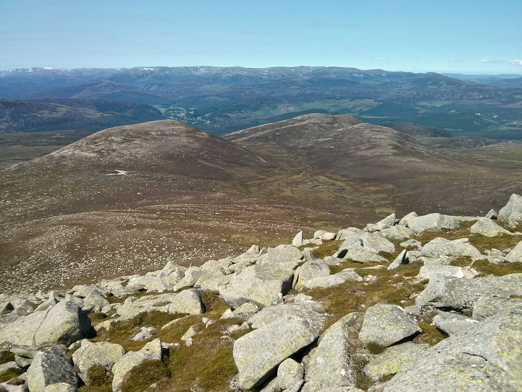 Meall an Tionaill and the Blacksheil Burn
