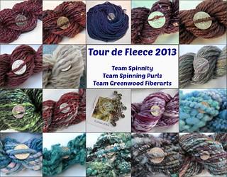 Tour de Fleece 2013,  c'est fini