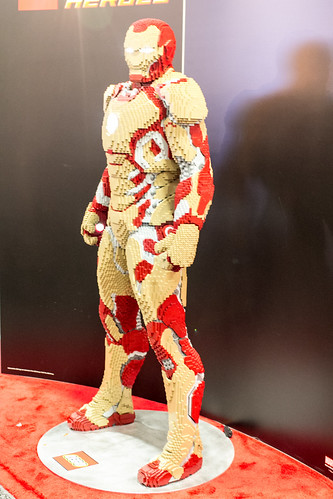 Lego Iron Man 3 Mark 42 Side