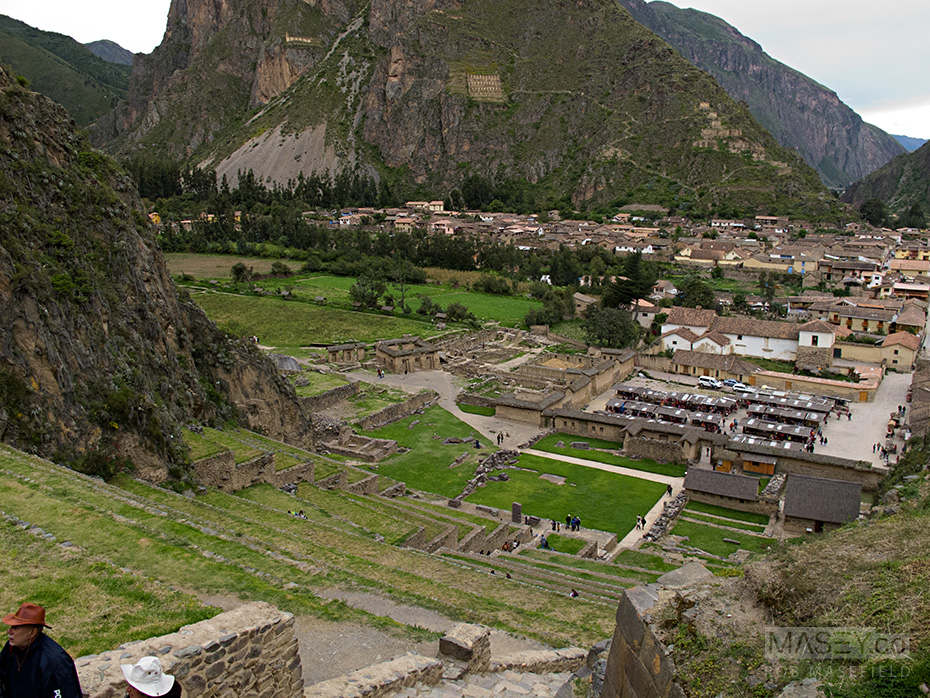 Views from the ruins of Ollantaytambo.
